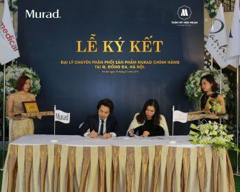 TMV Milan ký kết hợp đồng trở thành đại lý của dòng mỹ phẩm cao cấp Murad